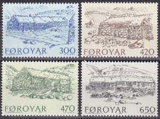 Faroe Islands 1987 - Mi 145-148 - Mnh