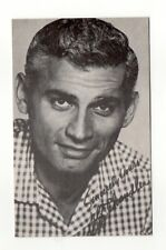 Jeff Chandler 1970's Actor Film Star Salutations Exhibit Arcade Card