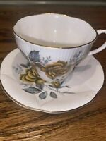 Vintage Finest Bone China Royal Imperial Tea Cup And Saucer Made In China
