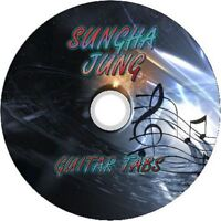 SUNGHA JUNG FINGERSTYLE GUITAR TAB CD TABLATURE GREATEST HITS BEST OF MUSIC