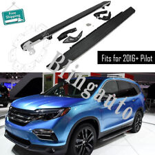 Fits for 2016-2020 Honda Pilot running board side step nerf bars protect pedals