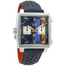 Tag Heuer Monaco Gulf 50TH Anniversary Steve Mcqueen Special Edition Chronograph