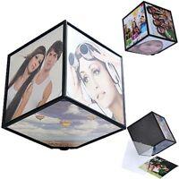 NICE cadeau 360 rerating revoling photo multiple photos cube Cadres Maison
