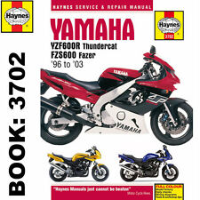 Yamaha YZF600R Thundercat FZS600 Fazer 1996-2003 Haynes Workshop Manual