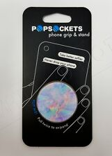 PopSockets Single Phone Grip PopSocket Universal Phone Holder Opal 101744