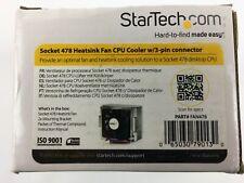 FAN478 Socket 478 Heatsink Fan CPU Cooler 3 pin Connector StarTech PA-478