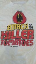 ATTACK OF THE KILLER TOMATOES 1978 Promotional vintage licensed shirt XL Hanes