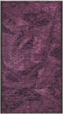 """Black / Purple Safavieh Power loomed Palazzo Area Rug - 2' X 3'-6"""""""