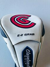 Cleveland Golf White Red E-Z Grab Launcher Dst Driver Headcover Head Cover Good