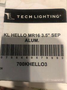 "Tech Lighting KL Hello MR16 3.5"" SEP, Aluminum - 700KHELLO3"