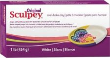 Scupley Oven Bake Clay - White