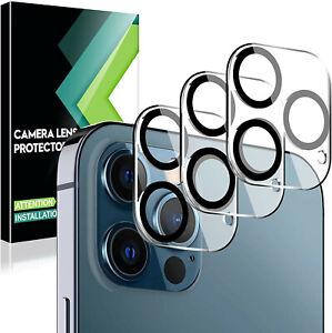 Verre Trempé Vitre Arrière Protection Intégrale Caméra iPhone 12 Pro Max 11 Pro