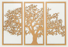 STUNNING 'OAK TREE' WALL ART (643MM HIGH X 950MM WIDE)