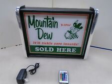 Ya-hoo Mountain Dew Sold here LED Display light sign box