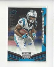 2019 Playoff Red Zone #265 Jordan Scarlett Rookie AUTOGRAPH Panthers