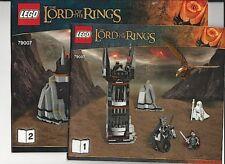 LEGO Battle at the Black Gate LOTR Instruction Booklets Set 79007 NEW 2 Books