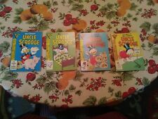 Walt Disney's Uncle Scrooge, Comic Digest, Gladstone, 80's, Four Issues 2-5,