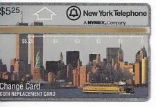 RARE / CARTE TELEPHONIQUE - MANHATTAN STATUE LIBERTE TRADE CENTER USA/ PHONECARD