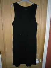 INTOWN (OSKA) JERSEY, PINAFORE TUNIC DRESS, SIZE MEDIUM, WORN ONCE
