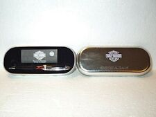 Harley Davidson Flames Ballpoint pen with collectible tin by Waterman