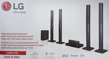 Lg LHB655N 5.1 Home Theater System, 3D Blu-Ray Player ,1000W,Black - Nip