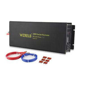 Pure Sine Wave Solar Inverter 2500W Power Inverter 36/48V DC to 120V/240V AC