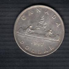 1947 BLUNT 7 CANADA SILVER DOLLAR