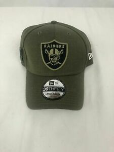 New Era Las Vegas Oakland Raiders NFL 39THIRTY Salute To Service Sideline Cap