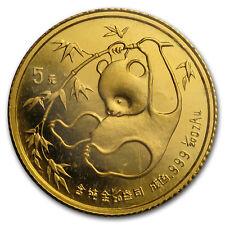 China 1/20 oz Gold Panda BU (Random Year, Sealed) - SKU #26850