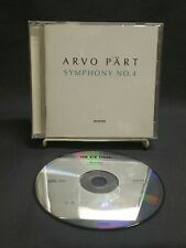 Arvo Pärt  ECM CD Symphony NO. 4.