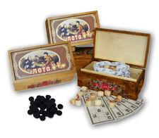 Russisches Lotto HOLZBOX Русское лото Gesellschafts Spiel Familienspiel Bingo