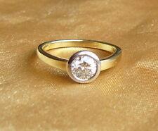 Ring mit Brillant Solitair 0,52 ct