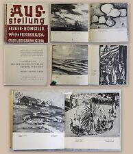 Katalog Ausstellung Erzgebirgische Künstler Freiberg 1947 Malerei Grafik Plastik