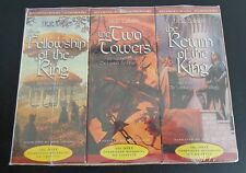 THE LORD OF THE RINGS Tolkien 2001 Cassette Collector's NEW Audiobook Set SEALED