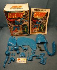 Vintage 1974 Aurora Comic Scenes Superboy w/ Comic DC Comics