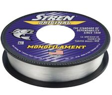 20 x Stren Original fishing line 8 lb test 330 yards clear blue (6600 yds total)