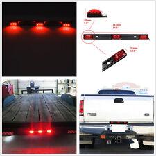 Car Truck Bright Red 3 Light 9 LED ID Bar Waterproof Clearance Brake Tail Light