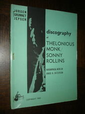 DISCOGRAPHY OF THELONIOUS MONK / SONNY ROLLINS - 1960