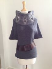 BRUNELLO CUCINELLI RIVAMONTI Collection Funky Chic Soutwestern Moftif Sweater S