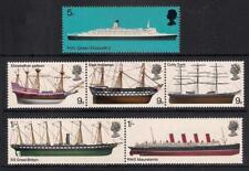 GB 1969 sg778-83 British Ships set MNH