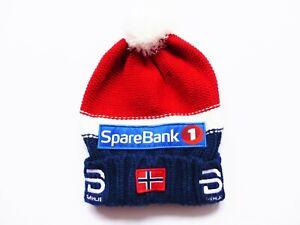 UNISEX BJORN DAEHLIE NORWAY HAT PODIUM 2.0 SKI WINTER HAT CAP SIZE: ONE SIZE