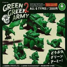 GREEN GREEN ARMY 2 All 6 kinds set Panda's hole Takara Tommy Arts Gachapon Japan