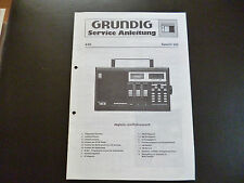 Original Service Manual Grundig Satellit 300