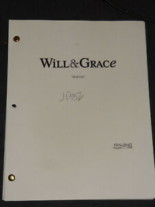 Chicago Hope Will & Grace script screenplay 2 different Kevin Bacon TV