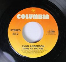 Country 45 Lynn Anderson - Come As You Are / I Love How You Love Me On Columbia