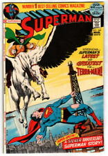 SUPERMAN #249 Neal Adams cover 52 pgs World of Krypton story 1972