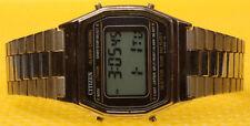 Men's Retro CITIZEN P110-312759 Digital Quartz Watch MADE IN JAPAN * GOOD USED *