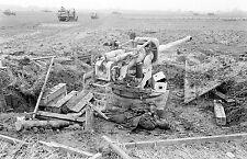 WW2 Photo WWII  Captured German 88mm Pak 43 Germany 1945  World War Two  / 4144