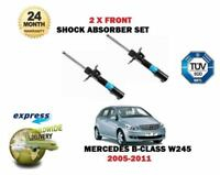 FOR MERCEDES B150 B160 B170 B180 B200 CDI 2005-2011 2x FRONT SHOCK ABSORBER SET