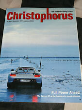 CHRISTOPHORUS PORSCHE MAGAZINE 305 DECEMBER/JAN 2003 2004 PORSCHE CARRERA GT 911